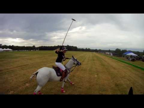 Saratoga Polo Club   Opening Night 2017    helmet camera footage