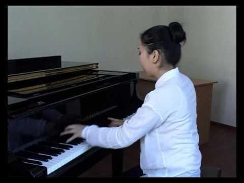 Umarova Shakhnoza Prokofiev Sonata 3 op 28 a moll