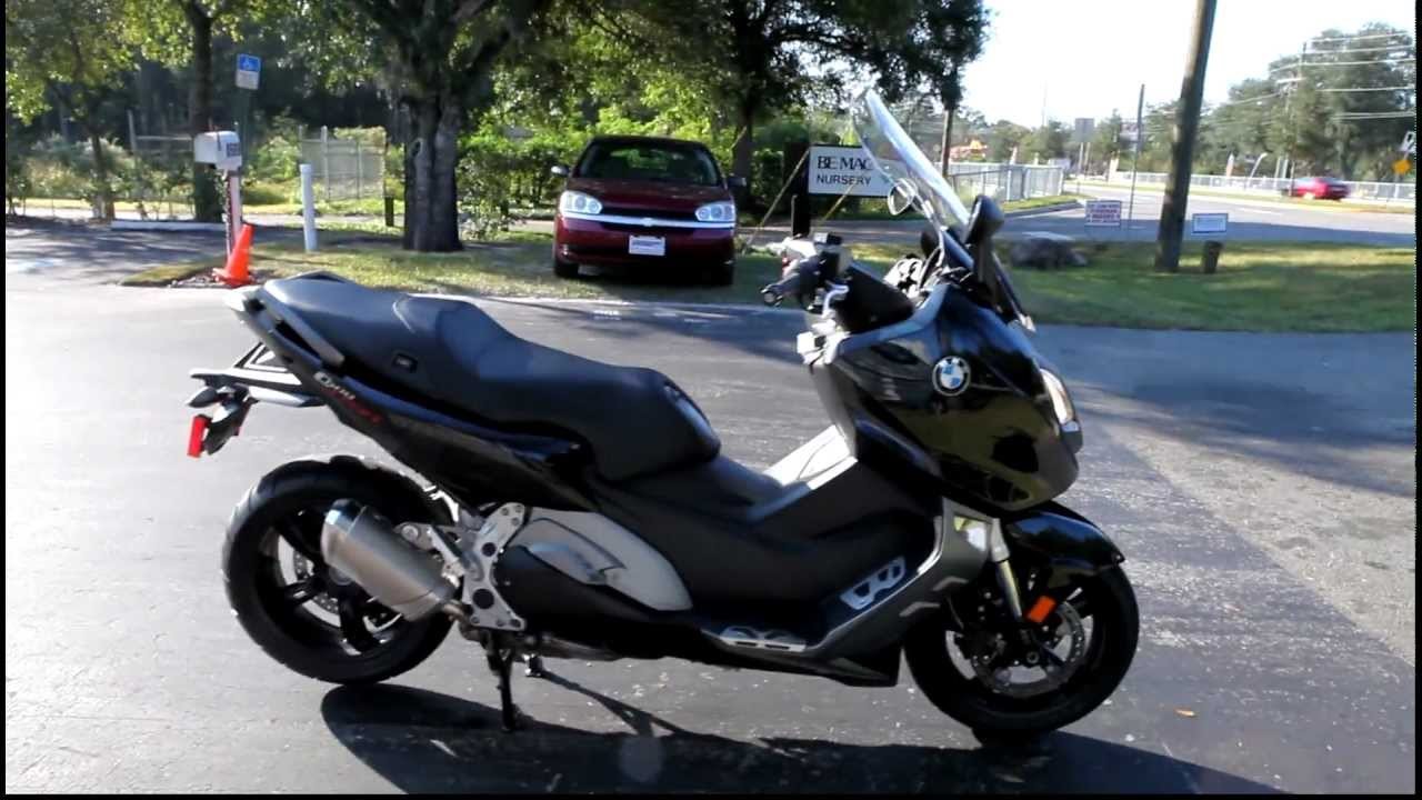 2013 bmw c600 sport in black at euro cycles of tampa bay. Black Bedroom Furniture Sets. Home Design Ideas