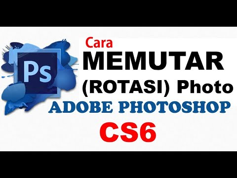 Cara Memutar Gambar Foto Di Photoshop Cs6 Cara Memutar Canvas Di Photoshop Youtube