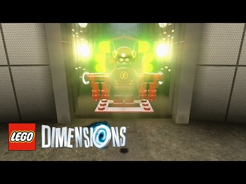 LEGO Dimensions - How To Find S.T.A.R. Labs (CW