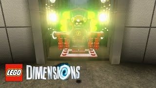 LEGO Dimensions - How To Find S.T.A.R. Labs (CW's The Flash)