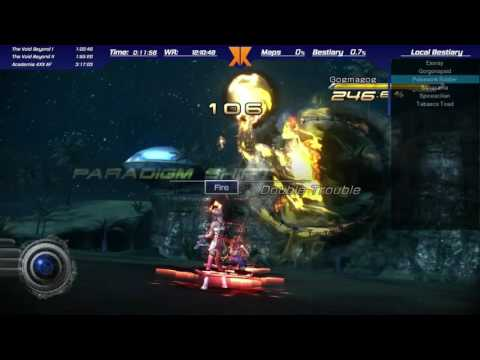 Final Fantasy XIII-2 160 Fragments PS3 Speedrun in 10:45:32 [WR]