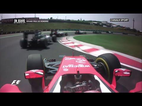 Räikkönen overtakes Nasr in rally-style! | F1 - 2016 - Hungaroring