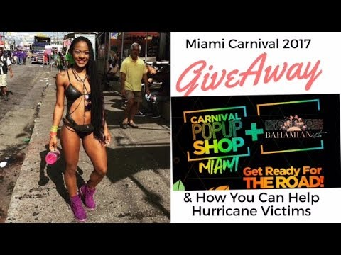 Miami Carnival Giveaway | Carnival Pop Up Shop Miami & Hurricane Relief: How You Can Help