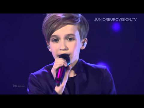 Mikhail Smirnov - Mechta (Dream) (Russia) LIVE Junior Eurovi