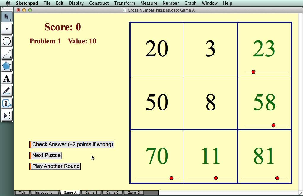 Cross Number Puzzlesaddition And Subtraction Youtube