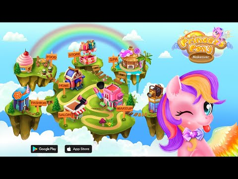 Princess Pony Beauty Makeover Unicorn Salon |