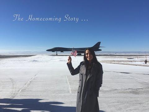 Air Force Homecoming B-1B