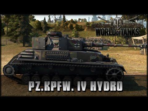 World of Tanks - Live: Pz.Kpfw. IV Hydrostat - Premium [ deutsch | gameplay ]