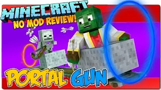 MINECRAFT 1.9 | PORTAL GUN SIN MODS! | Comando para crear una pistola de portales brutal!
