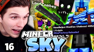 MEINE ERSTE SCHUSSWAFFE! & ENDERMAN FALLE! ✪ Minecraft Sky #16 | Paluten