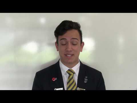 Leavers Dinner Safety video