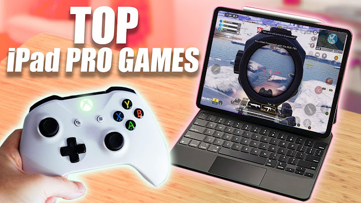 5 must have ipad games with full xbox  playstation controller support