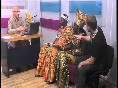 TV Interview at Macedonia