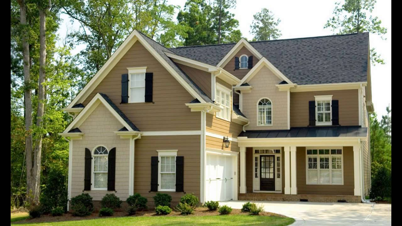Sherwin Williams Exterior Paint Color Ideas - YouTube
