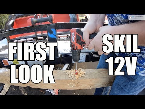 SKIL 12V PWRCORE Tools - First Look