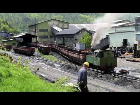 Banovici Coal Mine - Bosnian Narrow gauge Steam in Spring Sunshine #bosnia #bosniansteam #steamloco