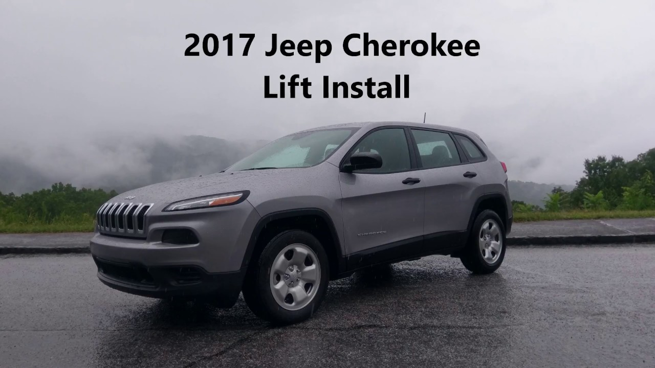 2017 Jeep Cherokee Kl Front Wheel Drive Lift Install