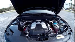 B8.5 2013 Audi S4 with ECS Tuning's Kohlefaser Luft-Technik Intake System