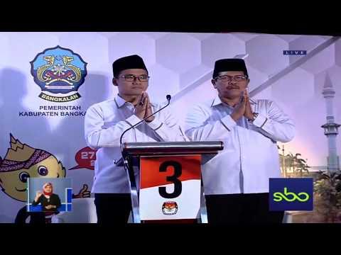 DEBAT PILKADA BANGKALAN PUTARAN KETIGA - 1 PROFIL CALON BUPATI DAN WAKIL BUPATI BANGKALAN.