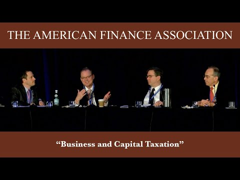 Business and Capital Taxation