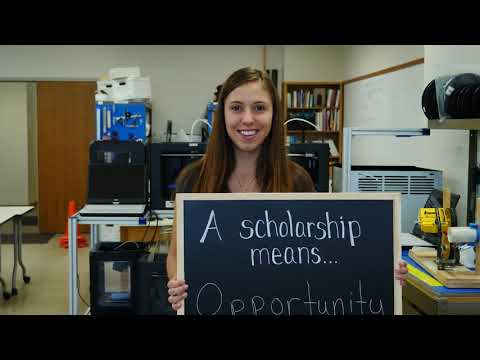 "South Dakota School Of Mines & Technology, ""It Starts With A Scholarship"" Video 1—Gold ADDY"