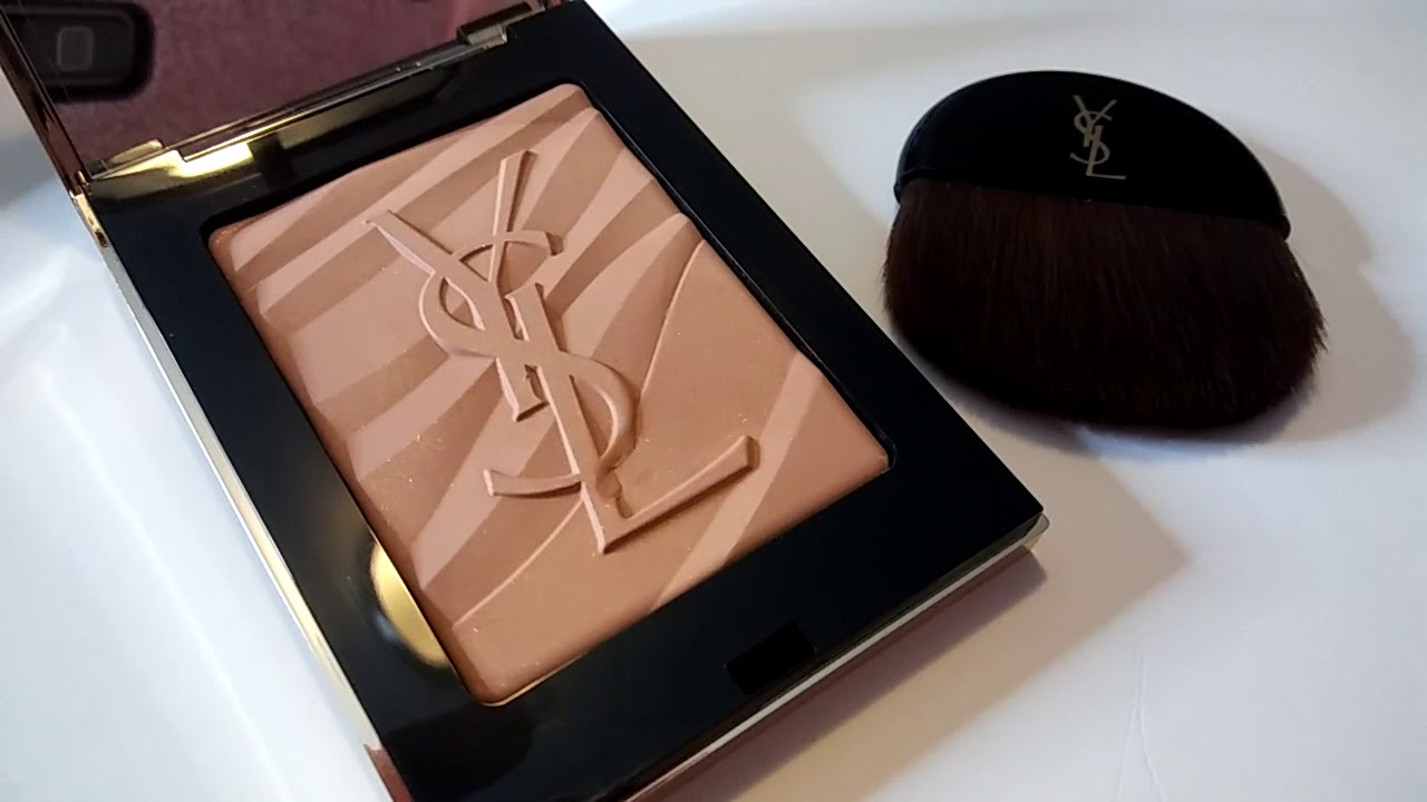 1a0ee20b25e YSL Les Sahariennes Bronzing Stones - YouTube