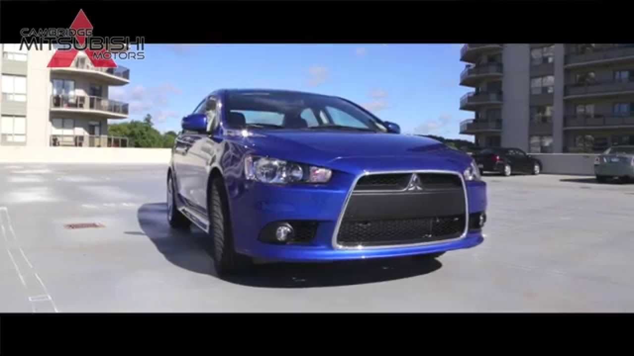 Mitsubishi Lancer Video Review Cambridge Mitsubishi YouTube - Mitsubishi cambridge