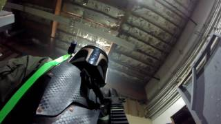 Playing Airsoft as a Mandalorian!