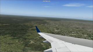 Delta Airlines Flight 1527 - Atlanta to Jacksonville Flight Simulator 2004