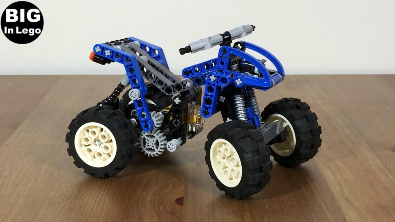 lego technic quad bike 8282 speed build youtube. Black Bedroom Furniture Sets. Home Design Ideas