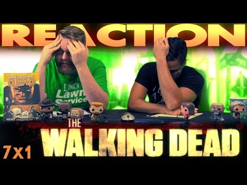 "The Walking Dead 7x1 PREMIERE REACTION!! ""The Day Will Come When You Won't Be"""