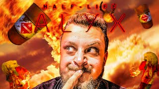 ROBBANÓ HORDÓK! ROBBANÓ HORDÓK MINDENHOL! | Half-Life: Alyx #4