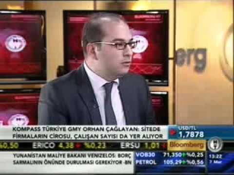 Kompass Turkey interview; Bloomberg channel with Orhan Caglayan - [tvarsivi.com]