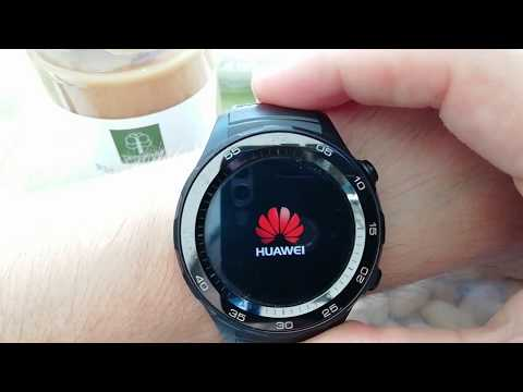 💜Huawei Watch 2 #NFC Android Google Pay, Maps, ESIM SmartWatch SumUp Filmed With Huawei P Smart📱👍