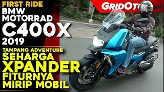 BMW C400X 2019 l First Ride Review l GridOto