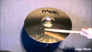 Test of Paiste 101 Brass 16'' Crash Cymbal