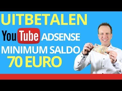 uitbetaling youtube hoe krijg je betaald via youtube youtube geld overmaken hoe uitbetaling youtube