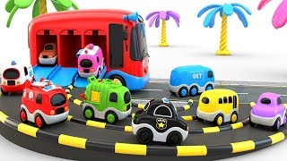 Learn Colors for Children with Toy Super Cars for Kids - Toy Car Parking Learn Colors #Rans_Kids_Tv