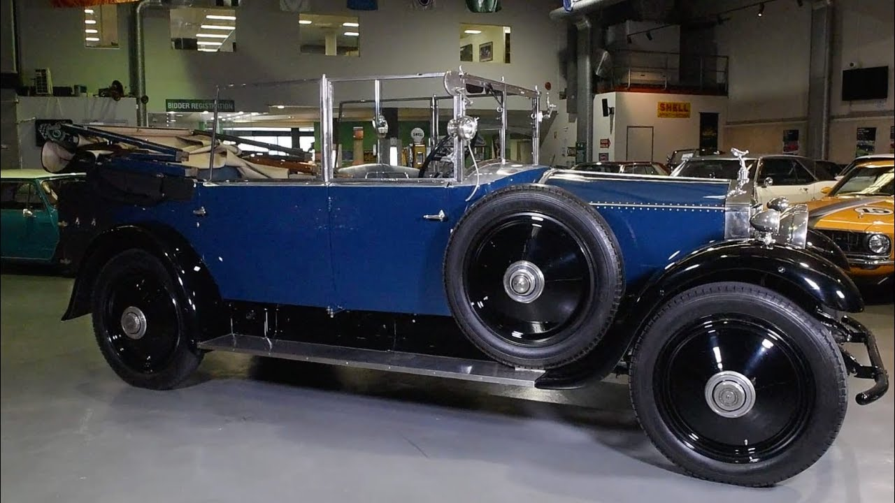 1924 Rolls-Royce 20HP 'Barker' Cabriolet - 2017 Shannons Sydney Winter Classic Auction