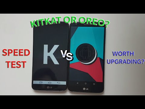 Android Oreo VS KitKat - Speed Test! Which Is Faster?
