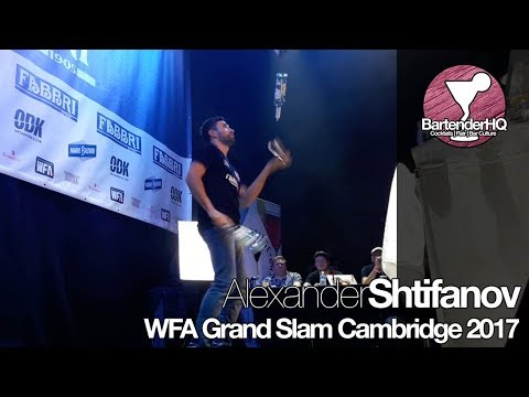 Alexander Shtifanov World Flair Association WFA Grand Slam Cambridge 2017