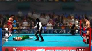 【WWE2K14】ジャイアント馬場&ハヤブサ vs スティーブ・ウィリアムス&ダーク・オズ【XBOX360】