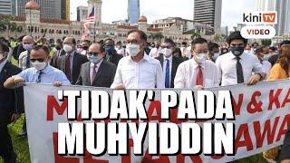 Semua parti pembangkang sepakat tak sokong Muhyiddin