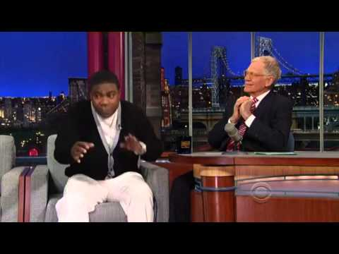 Tracy Morgan David Letterman Interview