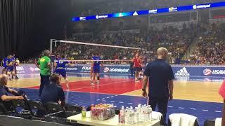 USA Hitting Lines (from match #2 vs Brazil)