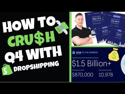 HOW TO CRUSH Q4 l Shopify Dropshipping thumbnail