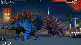 FAMILY BATTLE - JUGGERNAUT 32 NEW WORLD BOSS || Jurassic World The Game