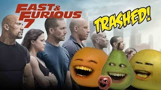 Annoying Orange - Fast & Furious 7 TRAILER Trashed!!